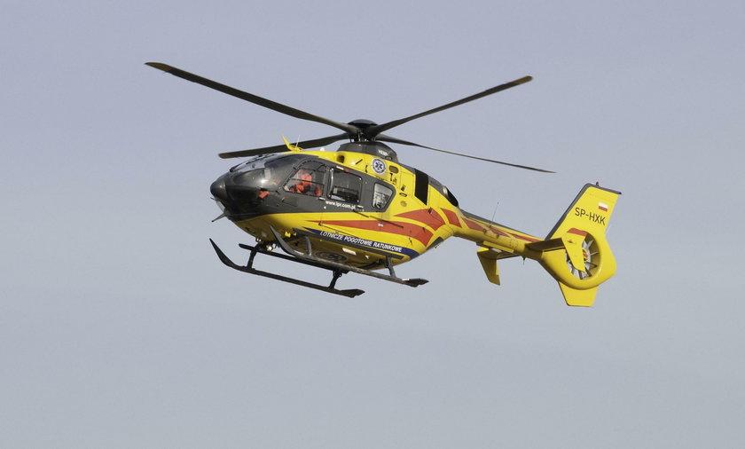 Wypadek w Karkonoszach. Jedenastolatka trafiła do szpitala