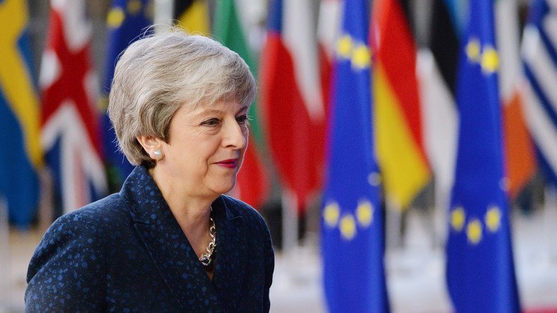 Theresa May w Brukseli