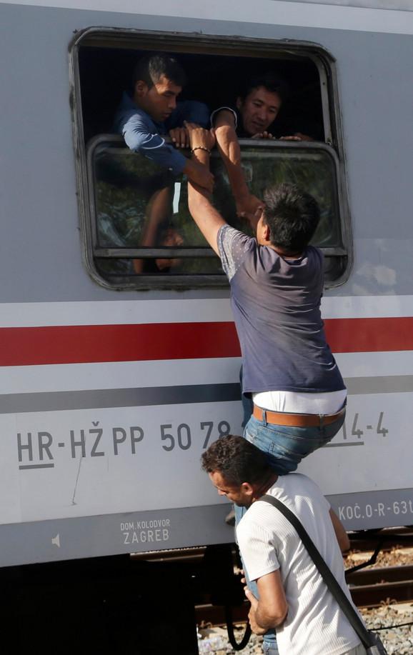 Migranti u Belom Manastiru