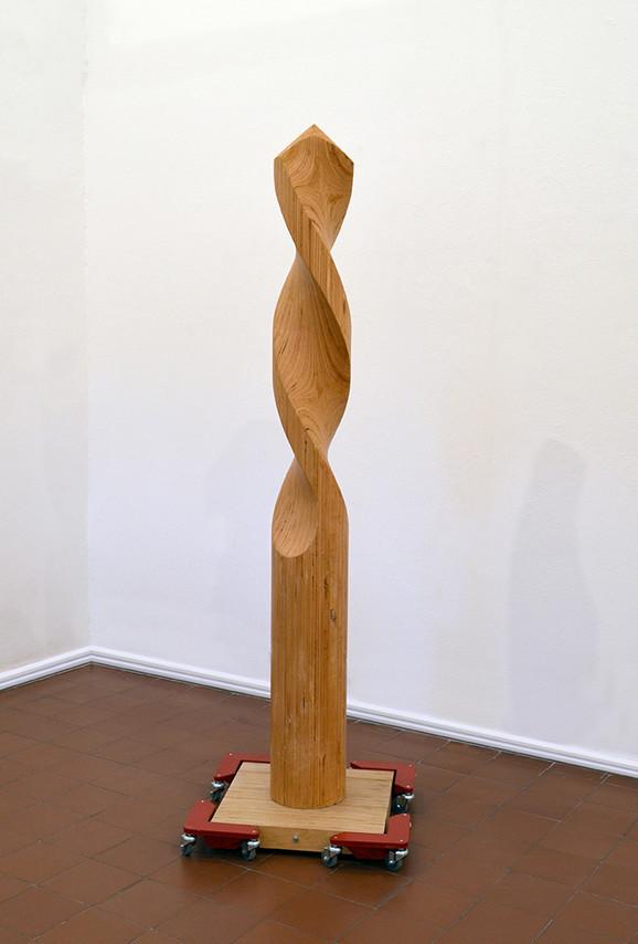Posle, 2017, šper, aluminijum, 210x63x63 cm