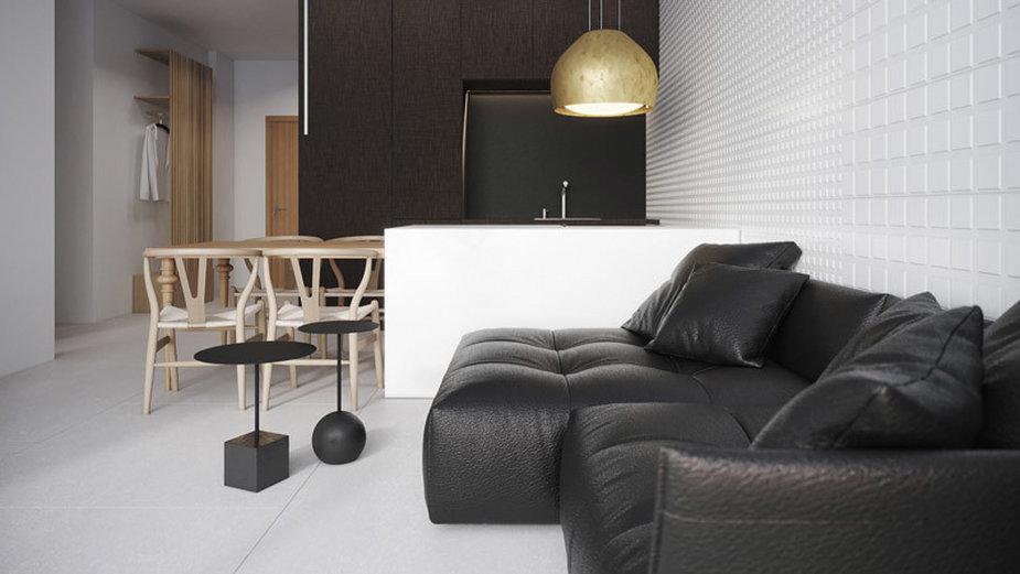 Minimalistyczny apartament na wynajem