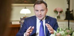 """Prezydent Duda komentuje """"taśmę Morawieckiego"""""""