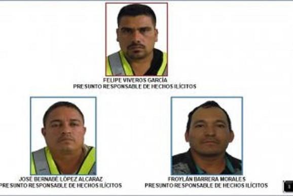 Felipe Viveros, Hose Bernabe i Frojlan Barero