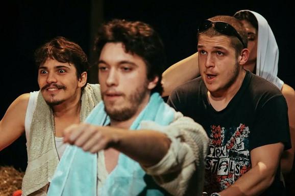 Studenti novosadske akademije u Pozorištu Promena