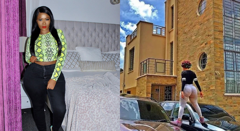 Vera Sidika speaks on her house being auctioned, refutes the claims