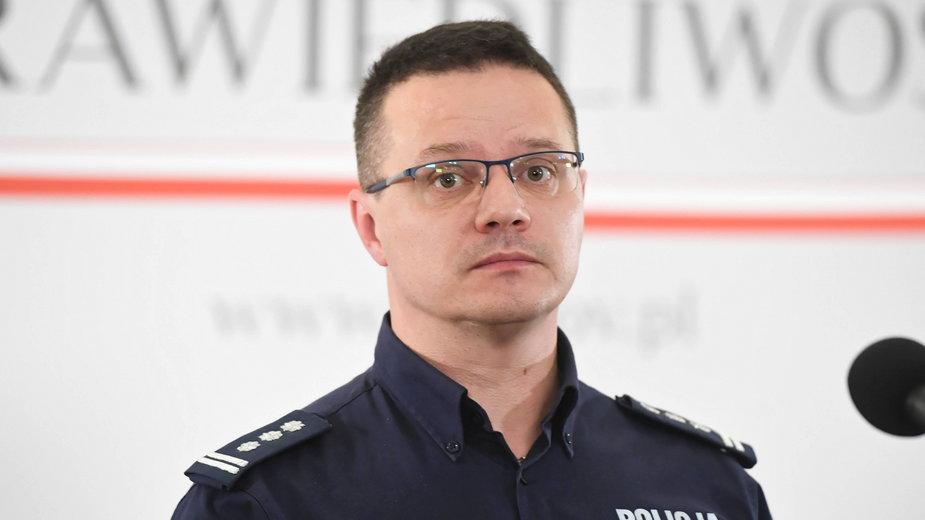Rzecznik policji Mariusz Ciarka