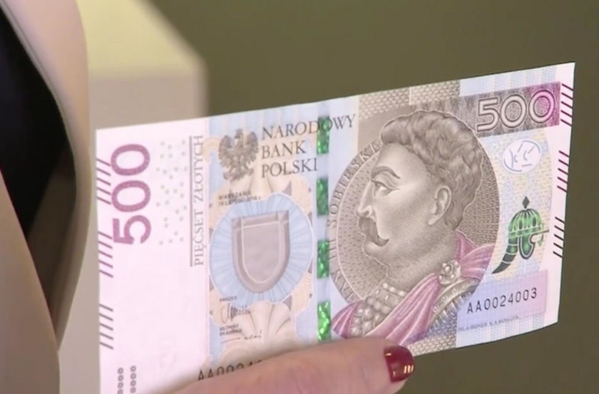 Do tego banknotu będziesz potrzebował nowego portfela