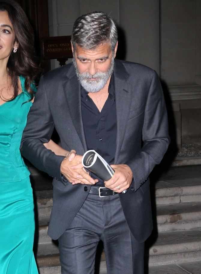 Amal Kluni doterala Džordža Klunija