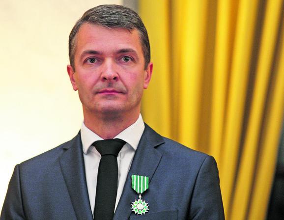Igor Stanković sa francuskim ordenom