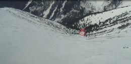 Dramat na Śnieżce! Wiatr zdmuchnął turystów ze zbocza