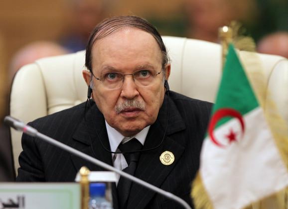 Abdelaziz Buteflika je na čelu Alžira bio 20 godina