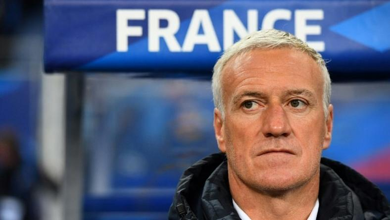 France's coach Didier Deschamps