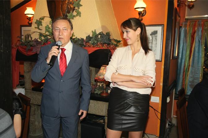 Anita Lazić sa ocem Dragoslavom Lazićem