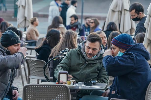 Kawiarnia we Włoszech