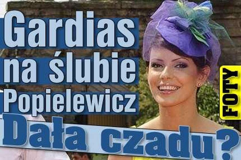 Gardias na ślubie Popielewicz. Dała czadu? FOTO