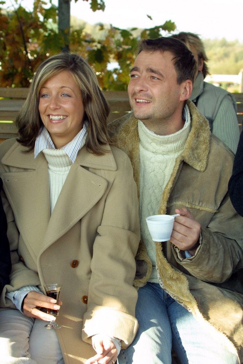 Małgorzata Rozenek-Majdan i Jacek Rozenek