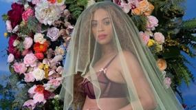 """Beyonce pokazała ciążowe krągłości. Zobacz piękne zdjęcia! """"Biją we mnie 3 serca"""""""