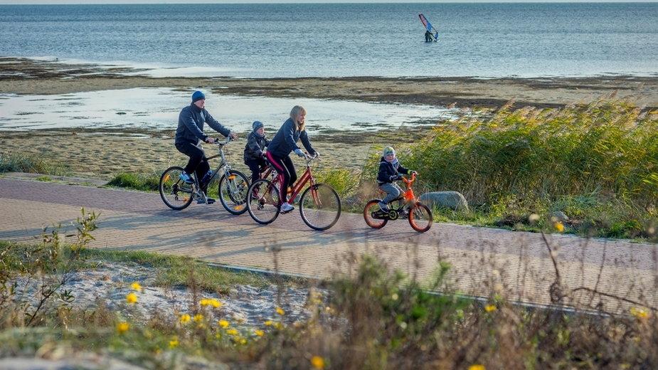 Trasa rowerowa na Półwyspie Helskim