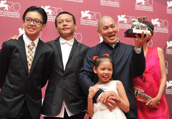 Tsai Minglijang (D) sa Velikom nagradom žirija