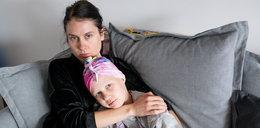 8-letnia Oliwka walczy jak bohaterka. Jej przeciwnik to rak złośliwy