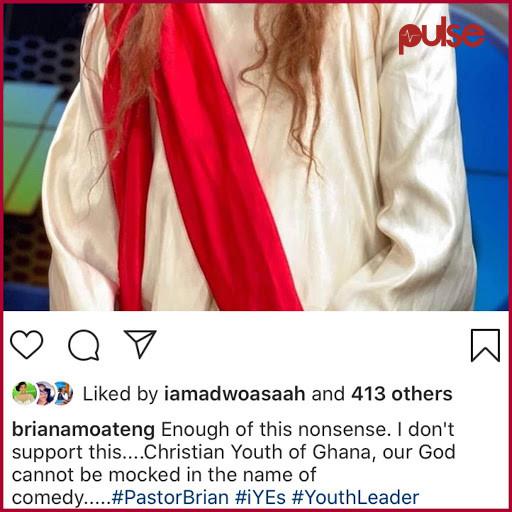 Pastor Brian's post