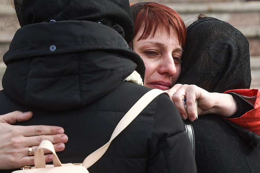 Cała Rosja pogrążyła się w żałobie