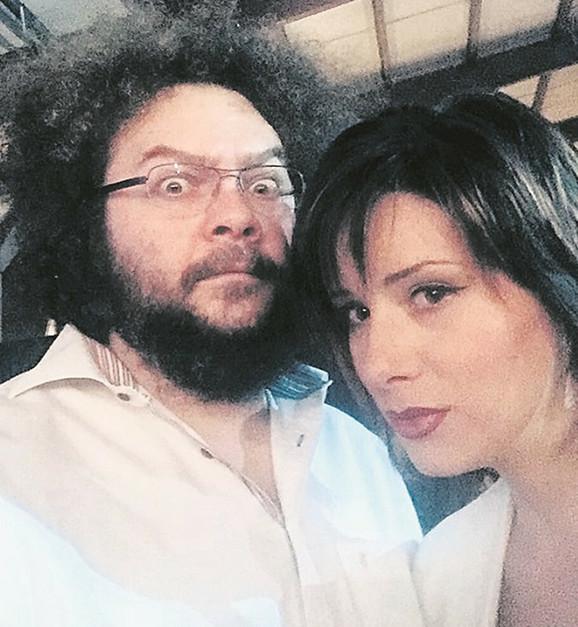 Marko Kon sa suprugom Milicom