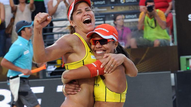 Larissa Franca i Juliana Felisberta Da Silva po raz trzeci z rzędu wygrały turniej World Tour Grand Slam