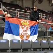 """TROBOJKA I PESMA """"GROBARA"""" Pogledajte kakvu su podršku imali košarkaši Partizana protiv Zenita /VIDEO/"""