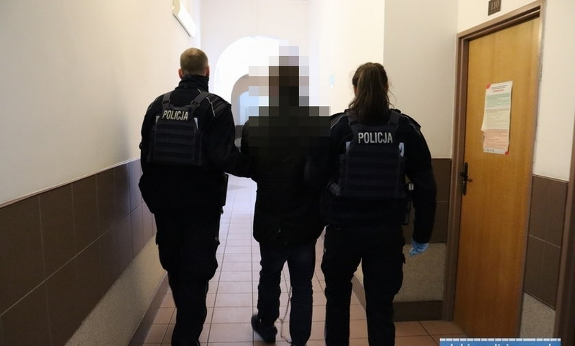 Horror w Lubinie. Mężczyźni uwięzili kobietę w mieszkaniu i zgotowali jej piekło