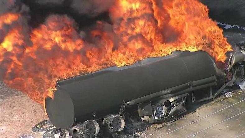 Petroleum Tanker accident