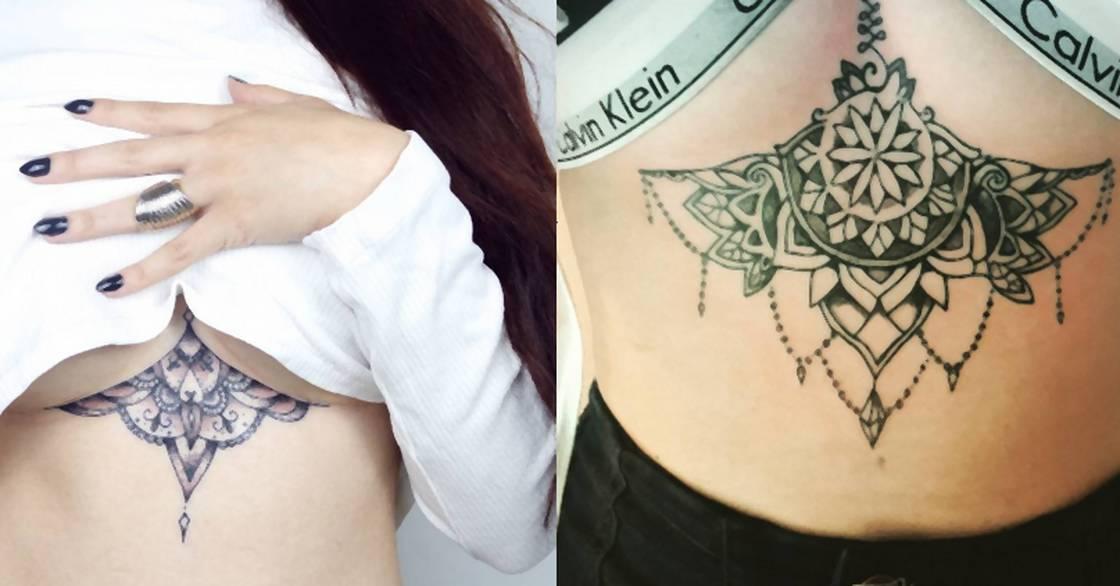 Tatuaże Pod Biustem To Najnowszy Hit Noizz