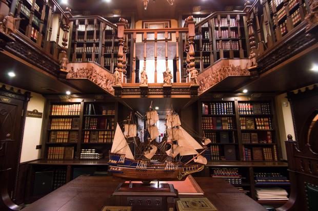 Wnętrze Book Capella