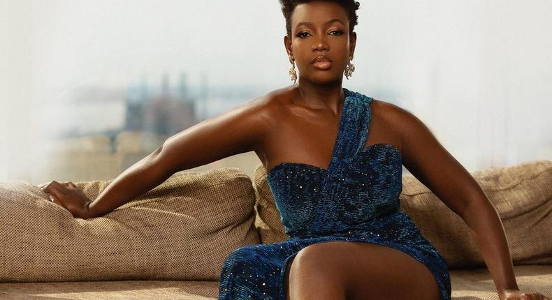 Kenyan actress Mumbi Maina