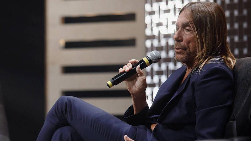 Iggy Pop na Red Bull Music Academy Montreal 2016