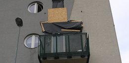 Zerwał się balkon pod ciężarem studentek z Krakowa