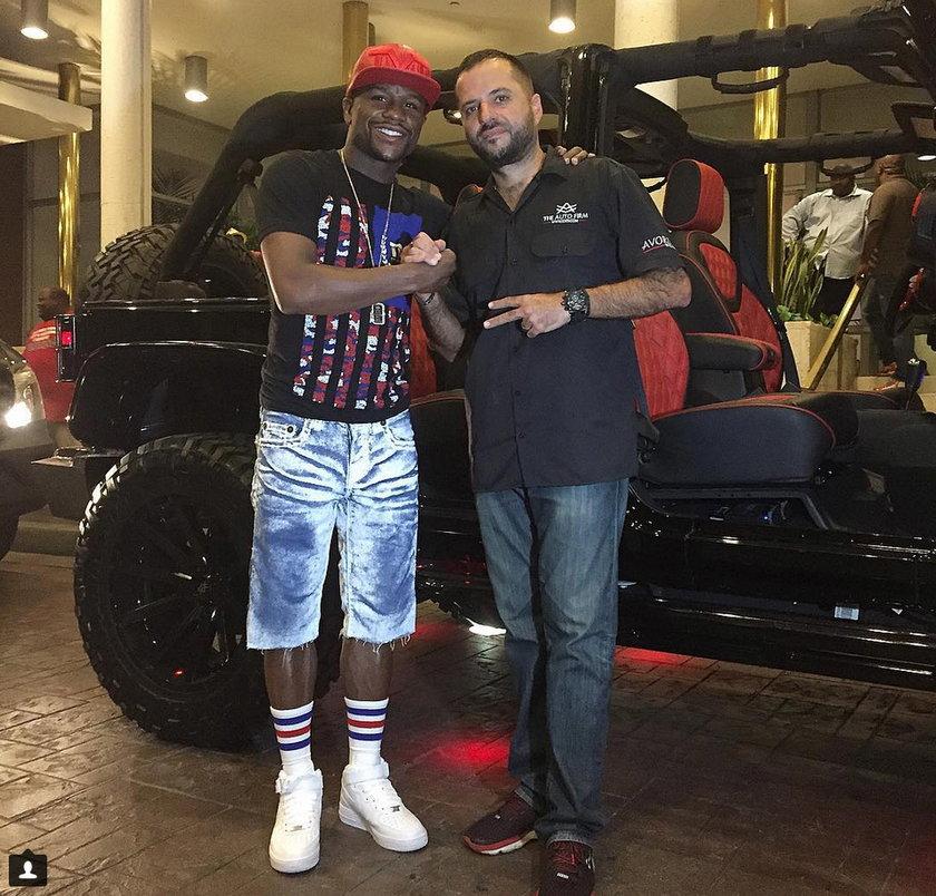 Gwiazdor boks Floyd Mayweaher Jr. podrasował swoje auto. Efekty robią wrażenie!
