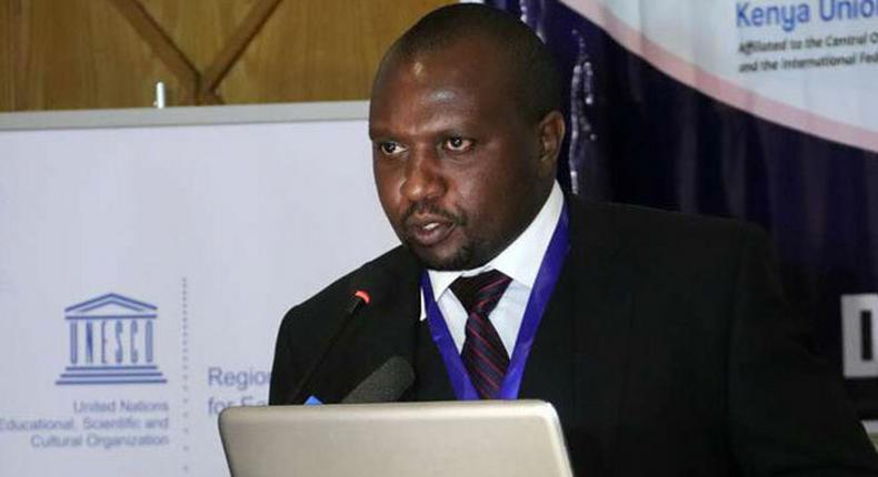 Media Council of Kenya Chief Executive Officer David Omwoyo Omwoyo