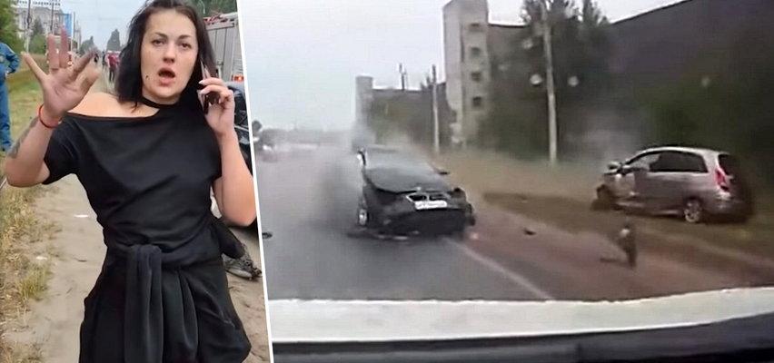 Pijana kobieta tańczyła na tle ofiar wypadku, który spowodowała. Ciężko raniła dziecko