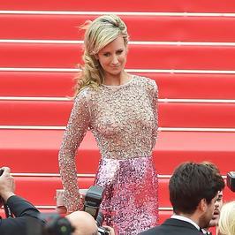 Victoria Hervey w odważnej kreacji w Cannes