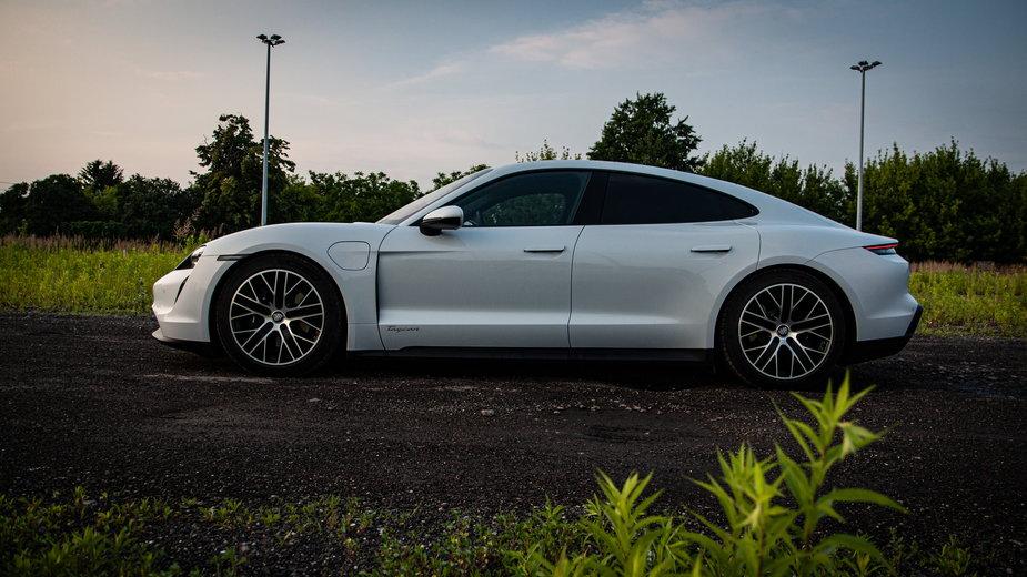 Elektryczny Porsche Taycan