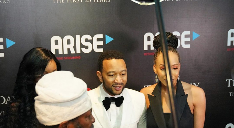 American singer John Legend makes quiet visit to Nigeria to perform at an event in Lagos