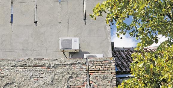 Rashladni uređaji trebalo bi da budu postavljeni tako da se ne vide spolja