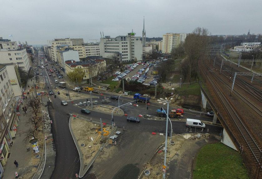 Przebudowa skrzyżowania w centrum Gdyni