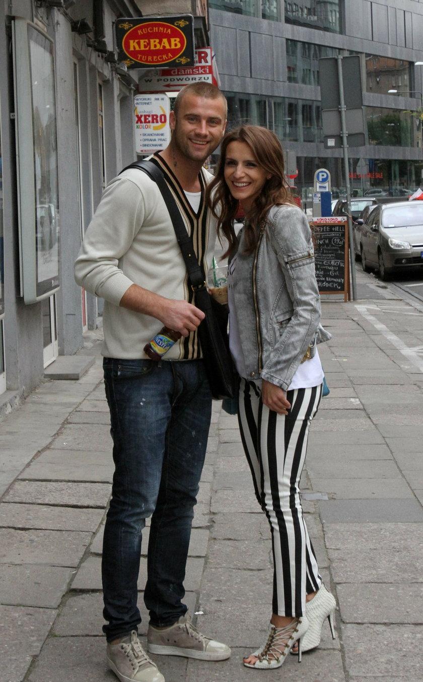 Sara i Artur Borucowie w Warszawie przed Euro 2012