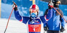 Prezydent na nartach w Zakopanem. Startuje w zawodach