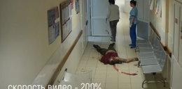 Szokujące nagranie ze szpitala. Mężczyzna nie żyje
