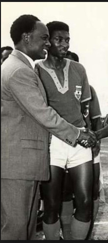 Aggrey Fyn with Dr Kwame Nkrumah