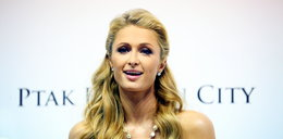 Paris Hilton na Targach Mody w Rzgowie