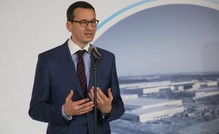 Morawiecki: Fakt, że Polska chce być hubem gazowym może pomóc USA stać się istotnym eksporterem gazu do Europy